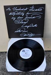 Current 93HOH ISLAND Unreleased Mayking Test Pressing Signed David Tibet RARE!!