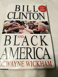 Autographed book Bill Clinton and Black America