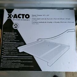 X-acto Wood Base Guillotine Trimmer 20 Sheets Wood Base 30x30