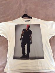 Kanye West Pacsun Yeezus Yeezy Cream Red Pre-owned Xl