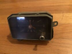 Borg Instruments Dash Clock Assembly 1972 1973 Buick Riviera  - Works