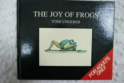 The Joy Of Frogs By Tomi Ungerer Hardcover Humour Book Oop Very Rare 1985 Vgvc