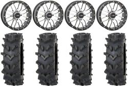 System 3 St-3 Machined 20 Wheels 35 Outback Maxand039d Tires Kawasaki Teryx Mule