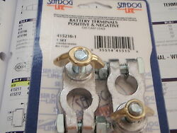 Battery Terminals Wing Nut Style Seadog 4152101 Positive And Negative Boat New