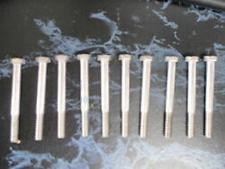 Stainless Steel Hex Cap Bolt 3/8-16 1-1/2l Box Of 10 4-0847 Machine Screw Boat
