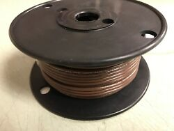 Wire Marine Boat Tinned Copper 16ga Brown 100ft Roll 84-5105 Wiring Electrical