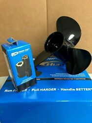 Propeller Force Outboard 10-3/8x14 21301410 W/hub 11 11300101 Turning Point Ebay