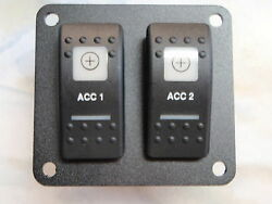 Switch Panel Accesory 1 And 2 Lighted Switches Psc21bk Esa2 V1d1g66b Switch Sale