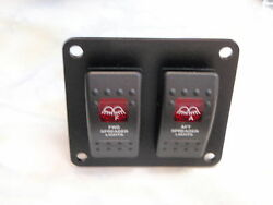 Spreader Lights Panel With Fwd And Aft Switches Psc21bk Esa2 V1d1g66b Switch
