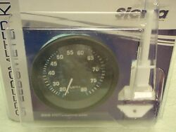 Speedometer 80 Mph Eclipse Series 3 68397p Kit Includes Pitot And Tube Teleflex