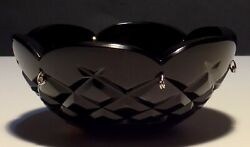 1 Very Rare Waterford Crystal 6 Pin Black Replacement Chandelier Sconce Bobeche