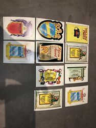 1967 Topps Kooky Awards Die-cut Card Partial Set 10/44 Nm Rare Test Issue Oop