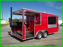8.5 x 1812ft inside enclosed cargo concession Gas BBQ grill trailer 3 x 6 window