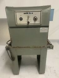 Weldotron Model 7020 Shrink Package Container Bottle Label Tunnel