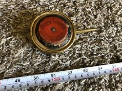 Vintage Quick Loader American Can Co Red Top Pump Powder Tin Can W Bellows 1800s