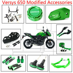 Modification Accessories Protector Lever Frame Slider For Kawasaki Versys 650