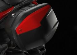 Ducati Side Case Suitcase Luggage Sidebags Red Multistrada 1200 since 2015 New