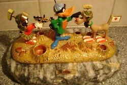 Ron Lee 1993 Duck Dodgers And Marvin The Martian Figurine. Warner Brothers