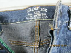 Mens Gilded Age Jeans Size 36 Waist Length 30