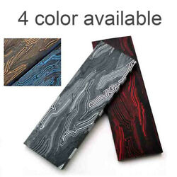 1x Diy G10 Knife Handle Scale Slab Sword Knives Making Material Plate 130x45x8mm