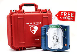 Onsite Aed With Plastic Waterproof Carry Case First Aid New