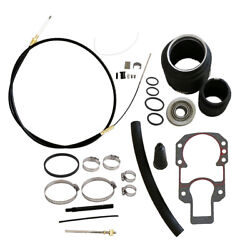 Shift Cable Bellows Outboard Transom Repair Kit For Mercruiser Alpha 1 One Gen 2
