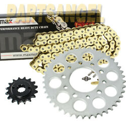 Yellow O-ring Chain Sprocket For Honda Vt600 Shadow Vlx Deluxe Vt600 C Shadow