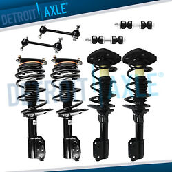 2buick Lacrosse Chevy Impala Strut Assembly + Sway Bars Front And Rear 17 Wheels