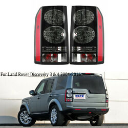 Pair Tail Light Rear Lamp For Land Rover Discovery Lr3 Lr4 2004-2014 2015 2016