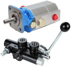 Log Splitter Hydraulic Kit, 13 Gpm 2-stage Pump And 25 Gpm Detent Control Valve