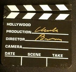 Hollywood Clapper Board Autographed Signed - Charles Bronson, Death Wish Movies