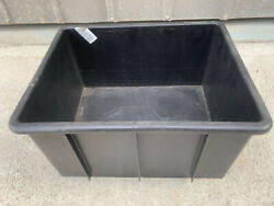 Strong Australian Made Plastic Storage Boxes / Crates For Warehouse Sydney Area