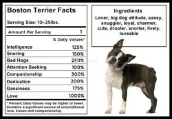 BOSTON TERRIER Facts Magnet