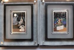 2017 All 3 Sold Out Star Wars Poster Coins Jedi40th Anniversaryand Empire.999