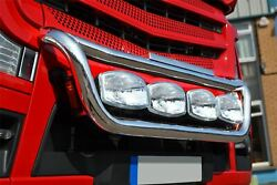 To Fit Mercedes Actros MP3 S/ Steel Grill Light Bar C + Spots + Side LED