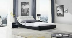 Greatime Fluffy Unique Bed Modern Easily Assembly Bed Frame With Slats Support
