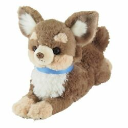 Sunlemon Plush Doll Hiza Wanko Chihuahua Brown TJN