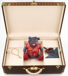 Louis Vuitton Pudsey Bear & A Custom Alzer Louis Vuitton Suitcase ONE OF A KIND