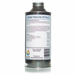 1l Mobil Velocite Oil No.3 Iso Vg 2 Spindle Oil 3