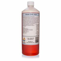 1l Mobil Shc 624 Iso Vg 32 Fully Synthetic Gear And Bearing Oil