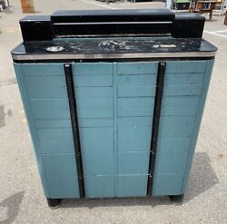 Vintage Industrial Dental American Cabinet Co Mid Century Art Deco Pick Up Only