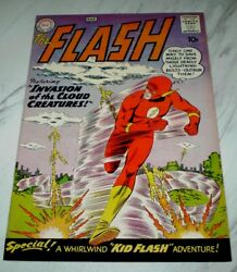 Flash #111 NM 9.4 Cr/OW pages 1960 DC 2nd Kid Flash, full page ad for B