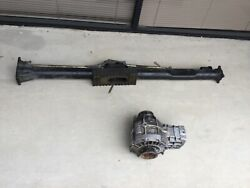 Porsche 964 Turbo Torque Tube Propeller Shaft And Front Differential C4 Carrera