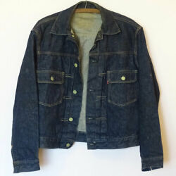 Levis Original Authentic Type ll Trucker Jacket 507xx Mint Vintage