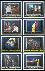Rebel Without A Cause James Dean Natalie Wood Nick Ray 1955 Lobby Card Set Of 8