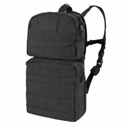 Condor Hydration Carrier 2 Tactical Molle Military Pack Bladder Black