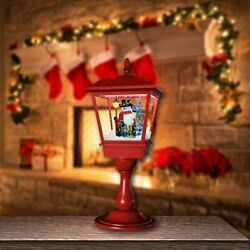 Christmas LED Candle Lantern Tabletop Lamp Hanging Decor Flameless LED Tea Light