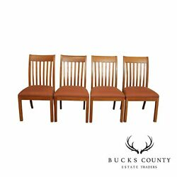 Ethan Allen American Artisan Collection Set 4 Colby Side Dining Chairs