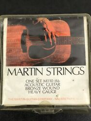 Martin Guitar Strings Acoustic Bronze Wound Rare Vintage New