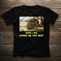 Baby Yoda Star Wars Movie Cute Adore Me Lovely Nice Gift T-shirt